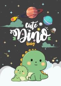 Dinosaur Baby The Dark Night