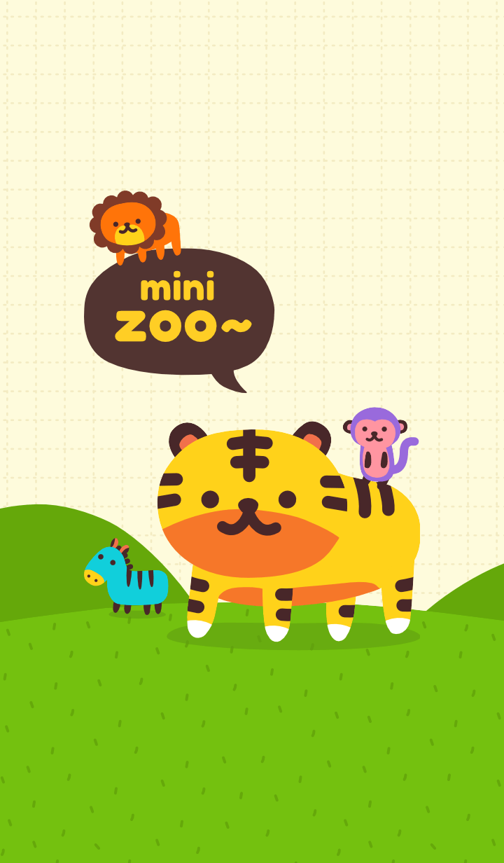 mini zoo: TIGO & LEO