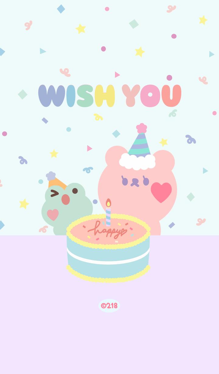 bearry cute - wish you