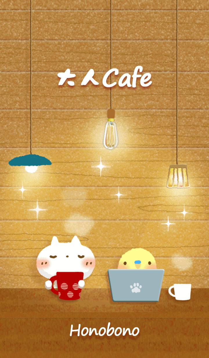 white cat Cafe2