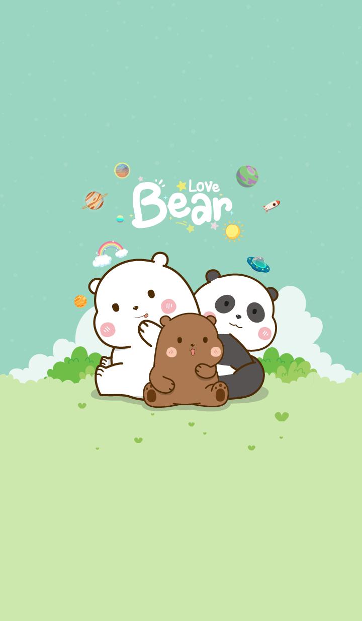 Love Mint Bear