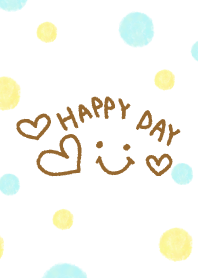 Watercolor polka-dotted smile-22-