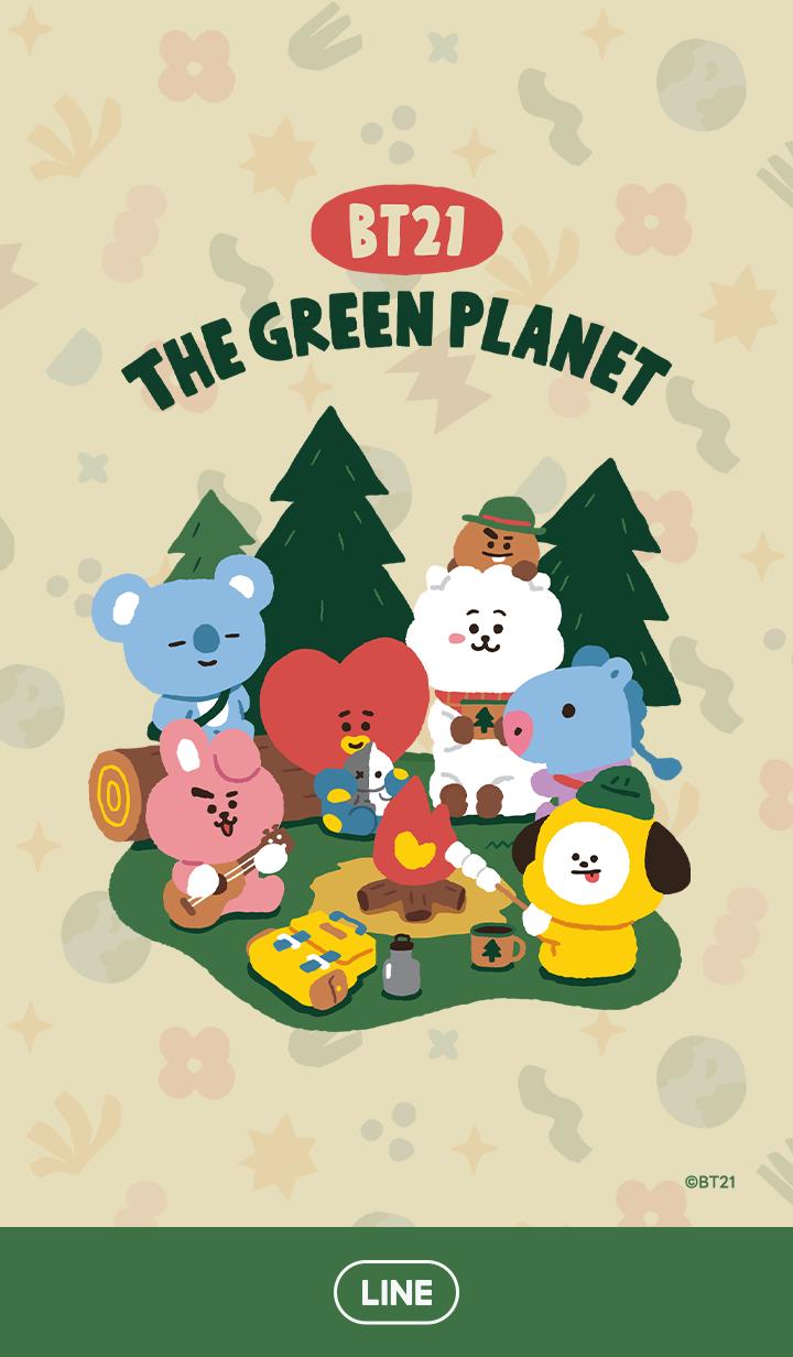 【主題】BT21 綠色行星