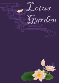 Lotus Garden + purple [os]