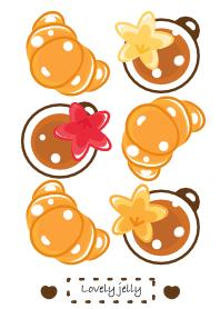 Cute Croissant & Coffee...