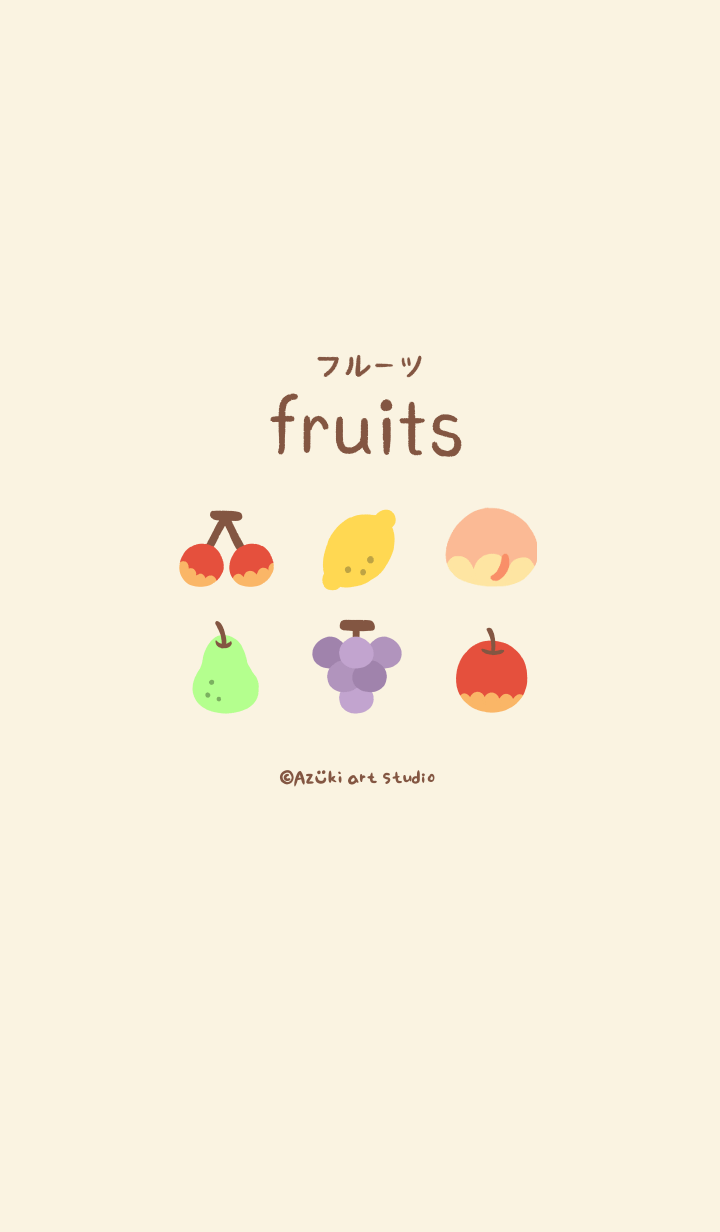 Fruits Theme