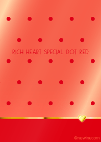 RICH HEART SPECIAL DOT RED