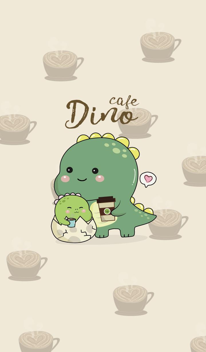 Dino at Cafe.