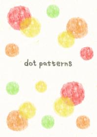dot pattern - watercolor painting9-joc