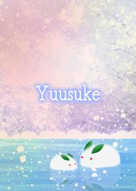 Yuusuke Snow rabbit on ice