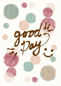 Watercolor Polka dot6 - smile24-