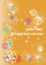 Orange : Simple Fortune UP Clover