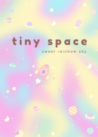 Tiny Space: Sweet Rainbow Sky