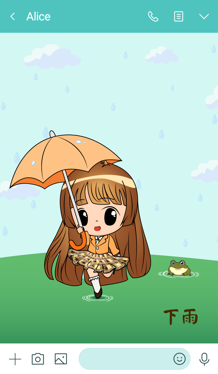 Little Rainy Girl