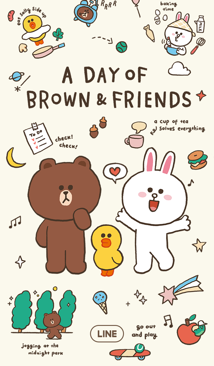A DAY OF BROWN&FRIENDS
