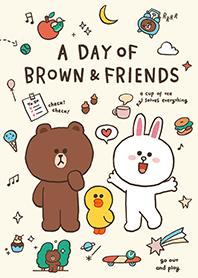 BROWN&FRIENDS(天天開心篇♪)