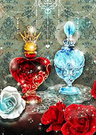 Alice's perfume bottle