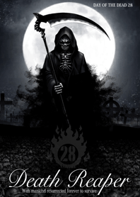 Death reaper Day of the dead 28