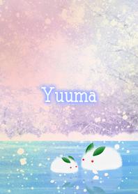 Yuuma Snow rabbit on ice