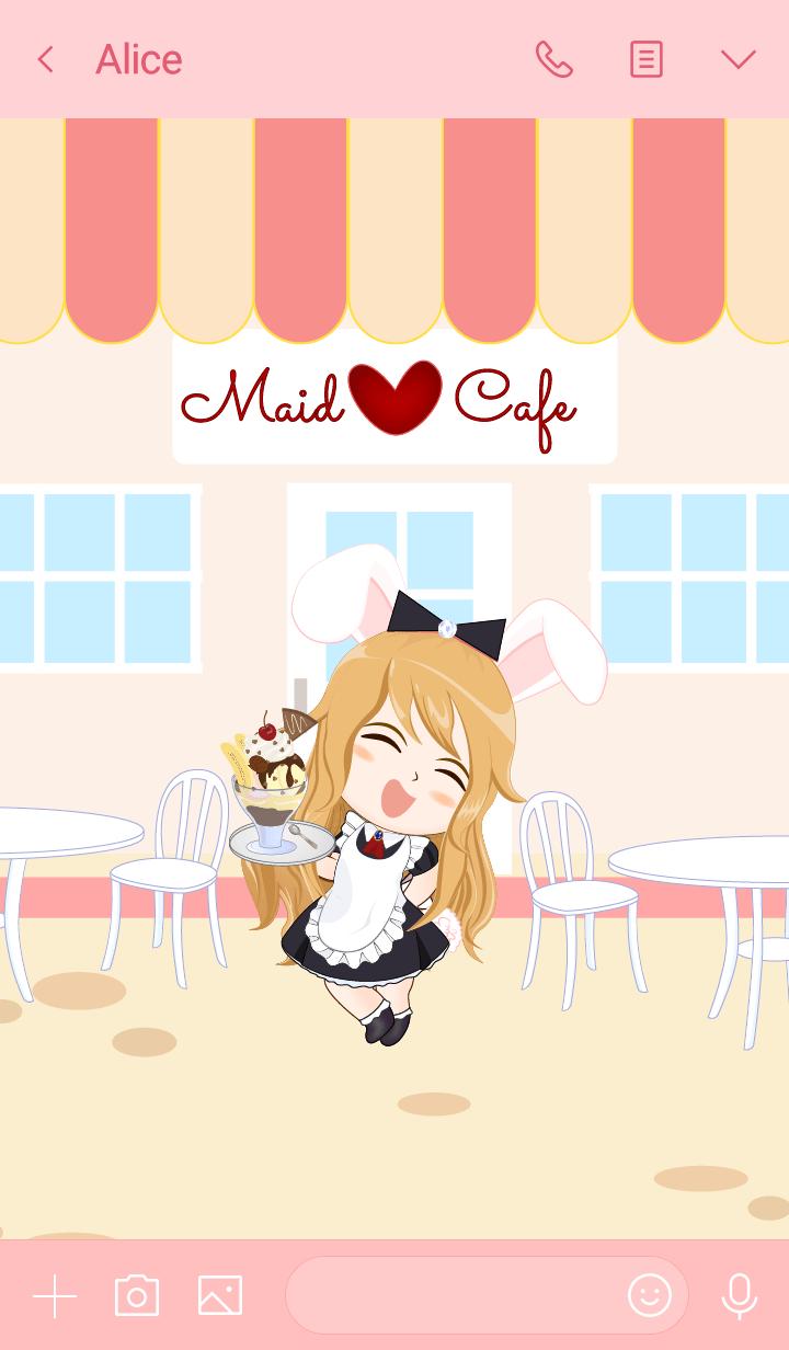 Bunny maid cafe
