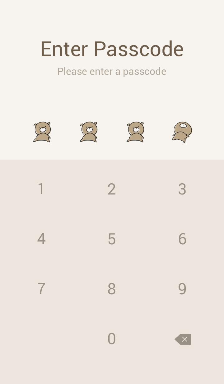 Beige Pink : Bear PONKOTSU 2