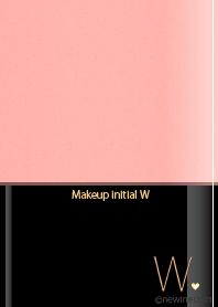 ธีมไลน์ Makeup initial W