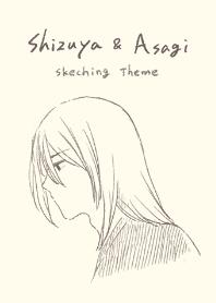 Shizuya and Asagi Theme. ver.1.1