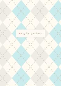 argyle pattern-green