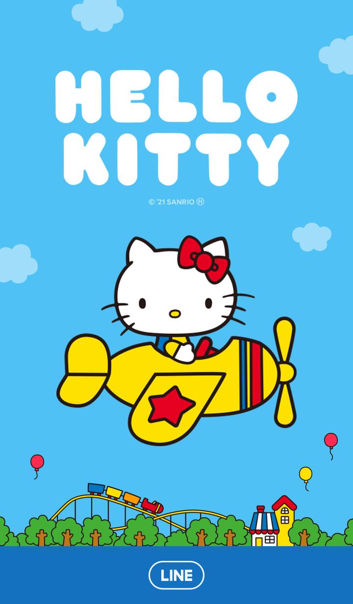 【主題】Hello Kitty(70年代 藍)