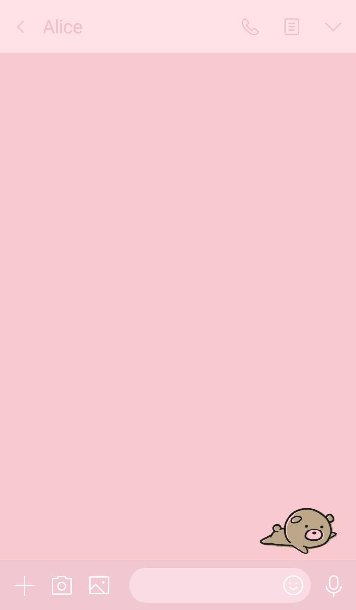 Pink : Bear PONKOTSU 2