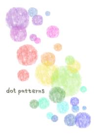 watercolor painting-dot pat...