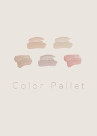 Color Pallet #Beige.