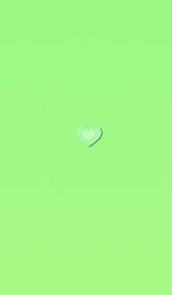 Emerald heart that changes life