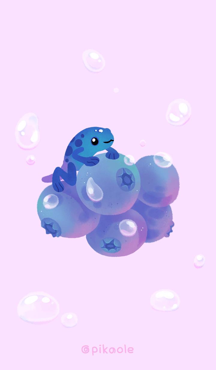 Blueberry Frog - J