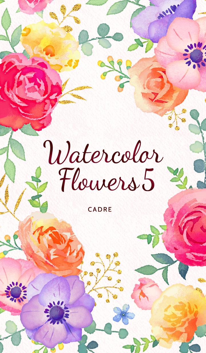 Watercolor Flowers 5