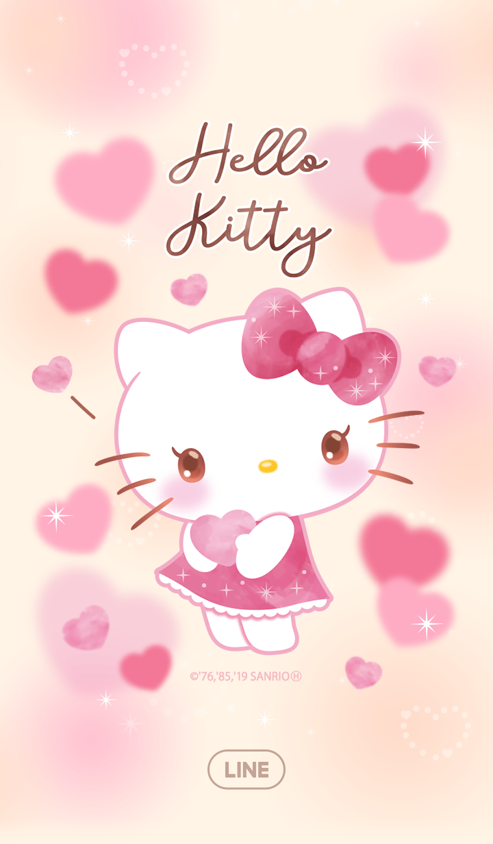 Hello Kitty 水彩画