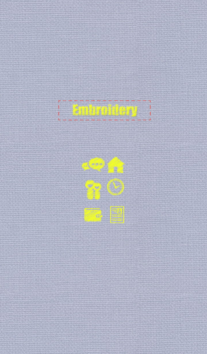Embroidery theme