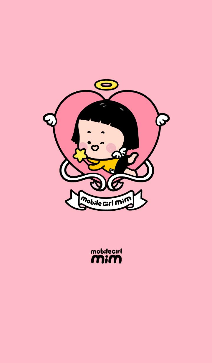Mobile Girl, MiM - v4 : Heart Angel