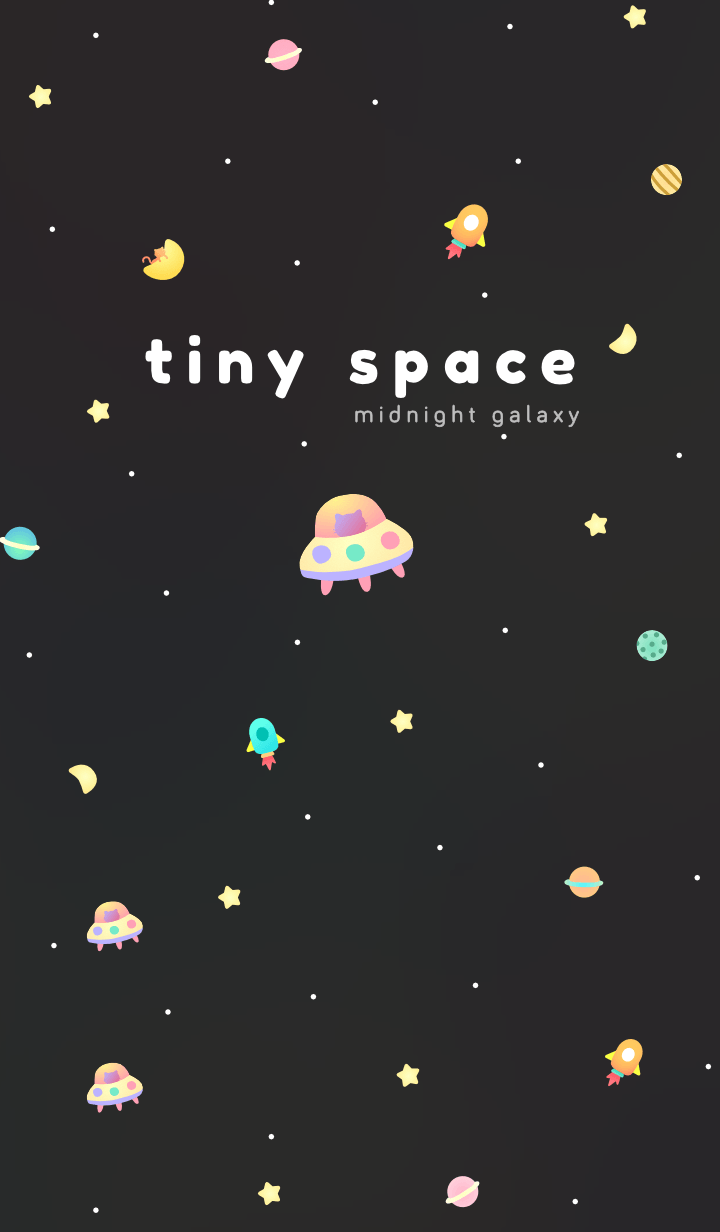 Tiny Space: Midnight Galaxy