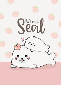 We are Seal Peach.