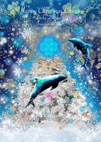 Happy Christmas Lucky Dolphin