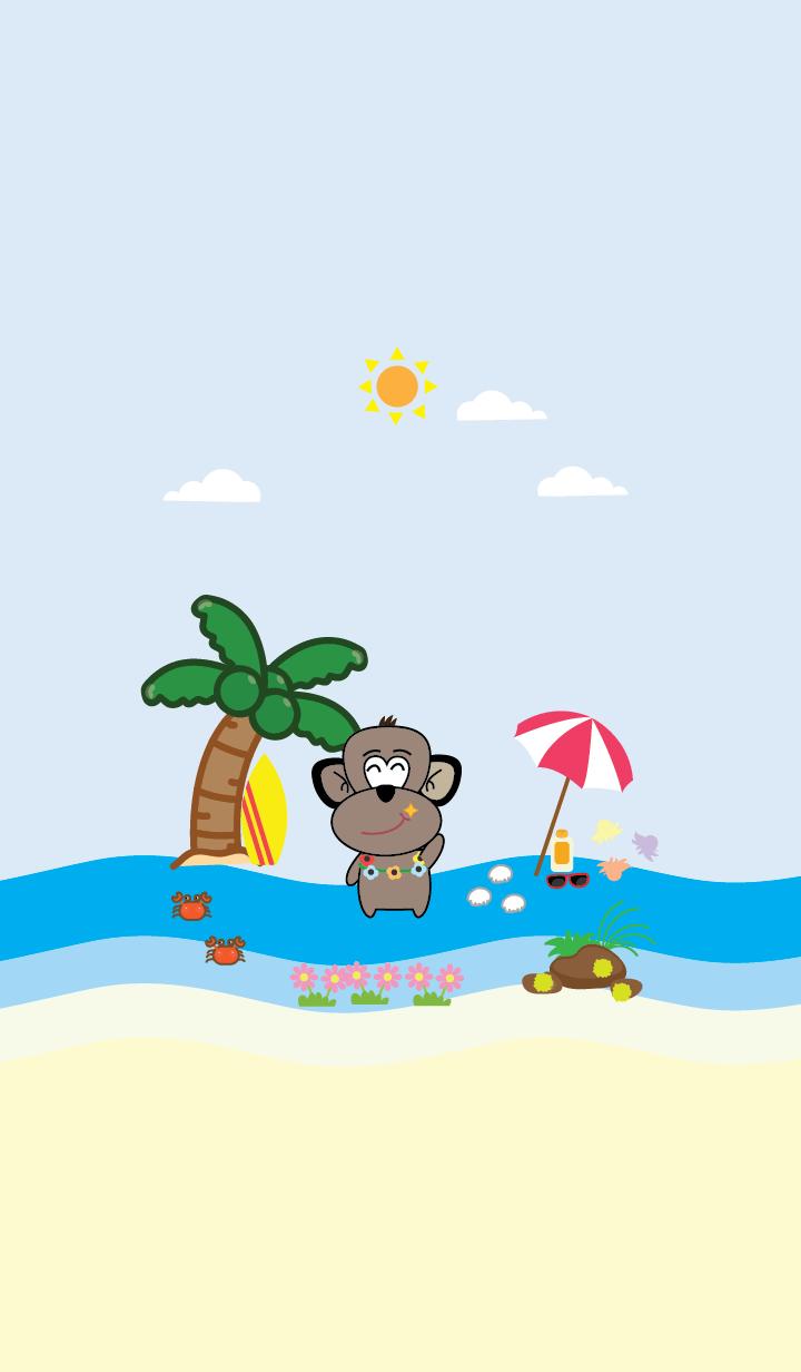 Simple sea monkey theme