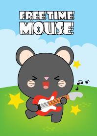 Free Time Black Mouse Theme