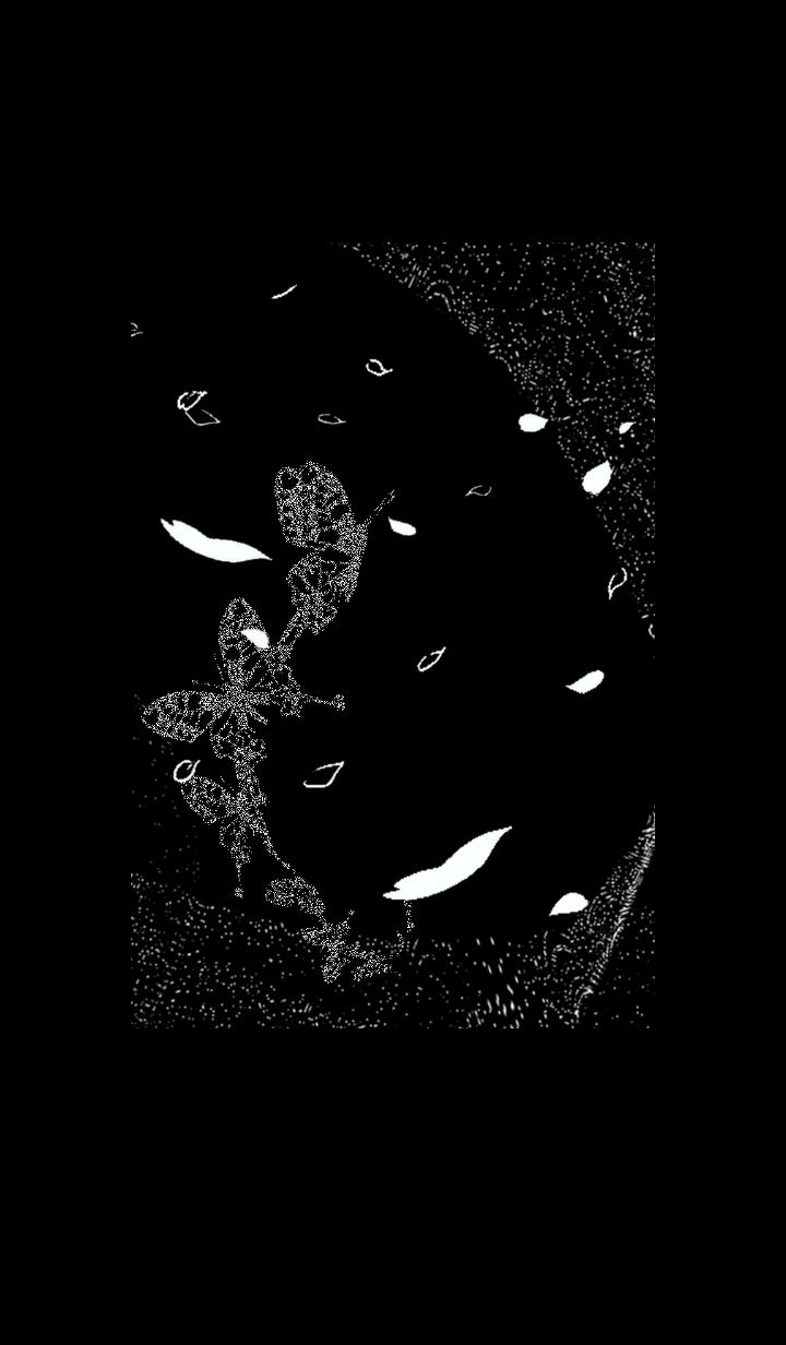 蝶が花びらと舞い踊る着せ替え(WK_NC)
