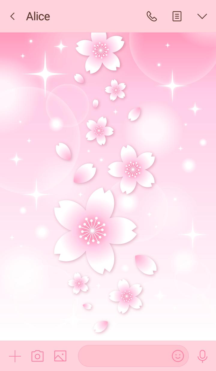 Sakura pink color