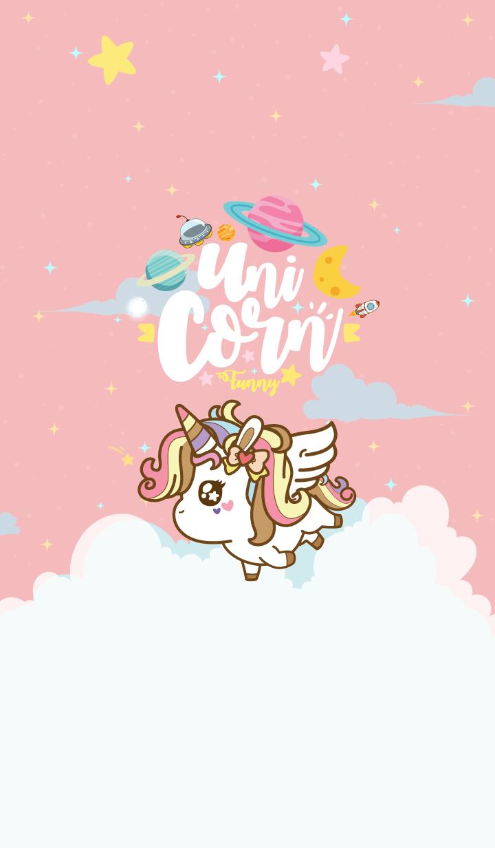 Unicorn Funny Galaxy Love