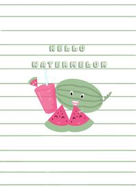 Hellowatermelon