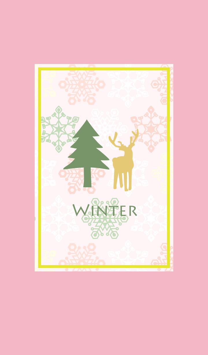 冬/粉紅色19