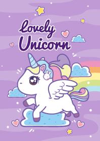 Lovely Unicorn Pastel