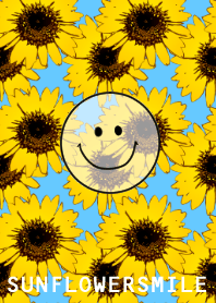 Sunflower and smiley. #pop